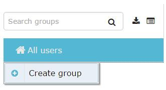 Adding Groups